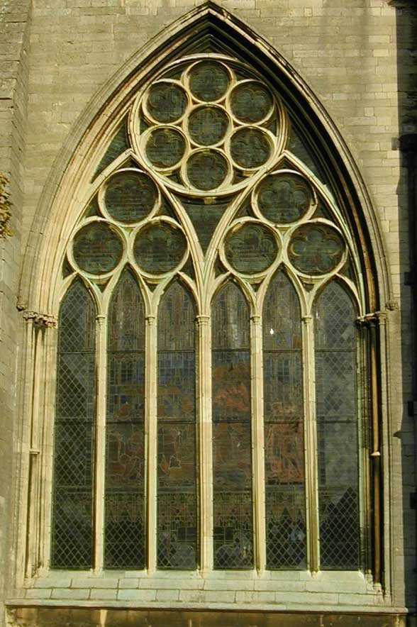 From The Outside It Is Not Easy To See That These Circles Have Foils But Inside Church Will Be Seen In Crown Fact